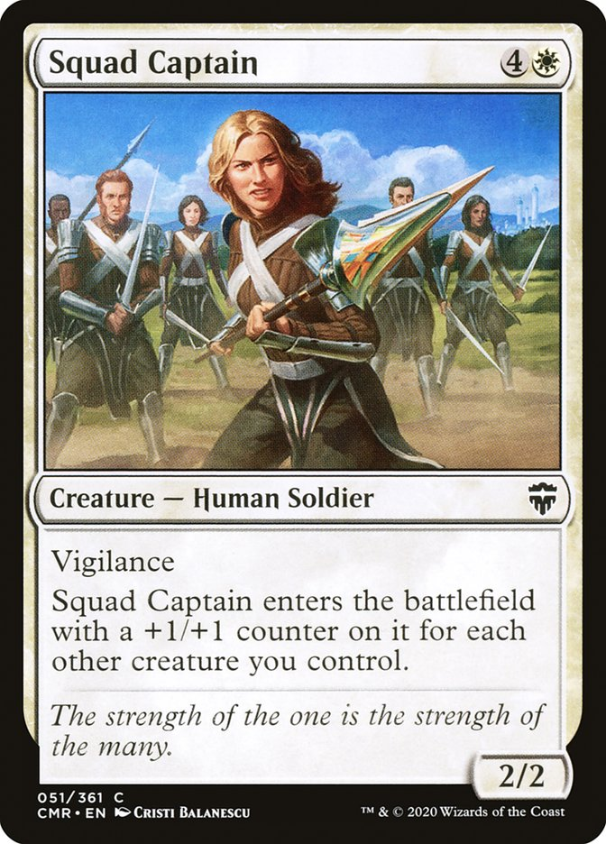 Carta /Squad Captain de Magic the Gathering