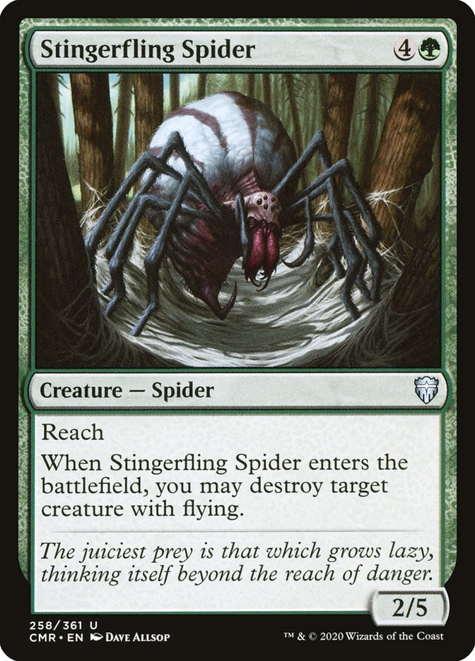 Carta /Stingerfling Spider de Magic the Gathering