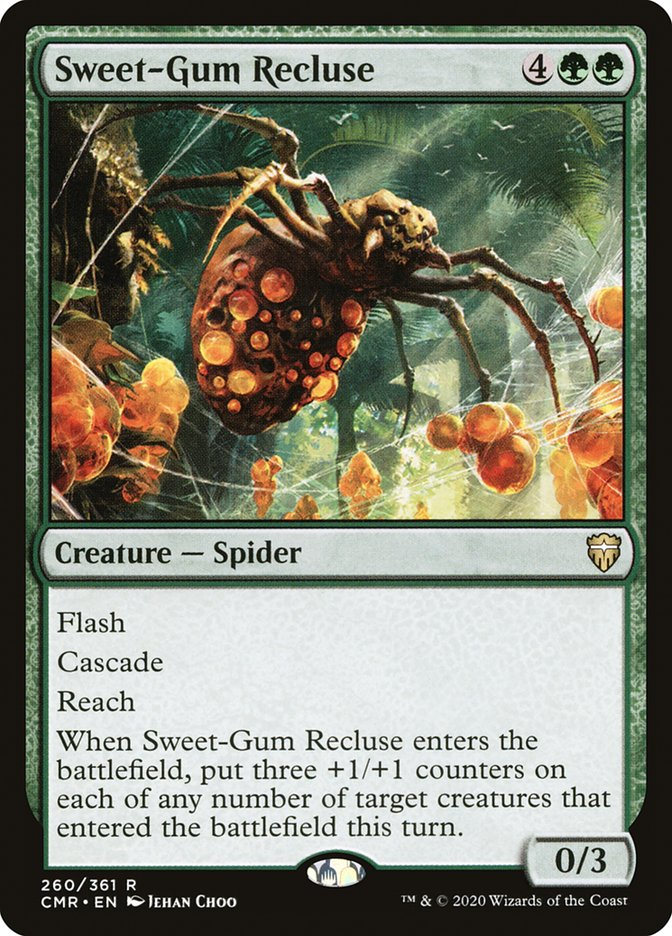 Carta /Sweet-Gum Recluse de Magic the Gathering