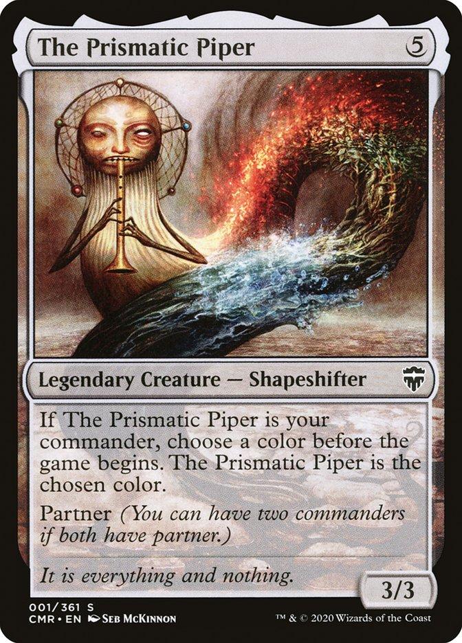 Carta /The Prismatic Piper de Magic the Gathering