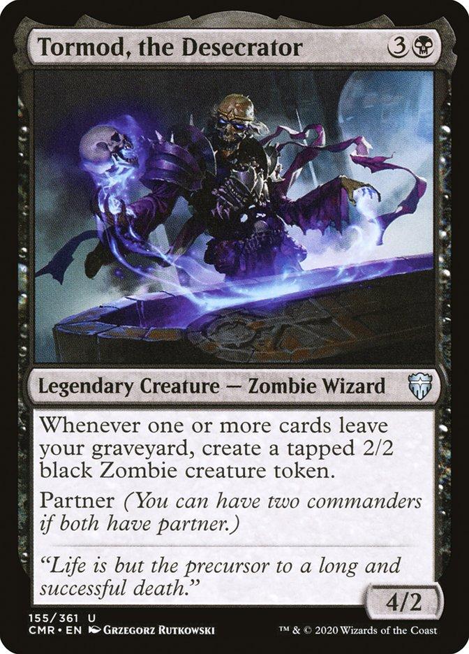 Carta /Tormod, the Desecrator de Magic the Gathering