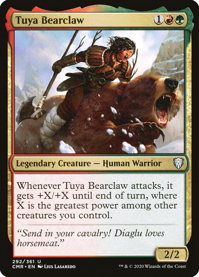 Carta /Tuya Bearclaw de Magic the Gathering