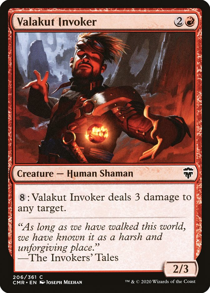 Carta /Valakut Invoker de Magic the Gathering