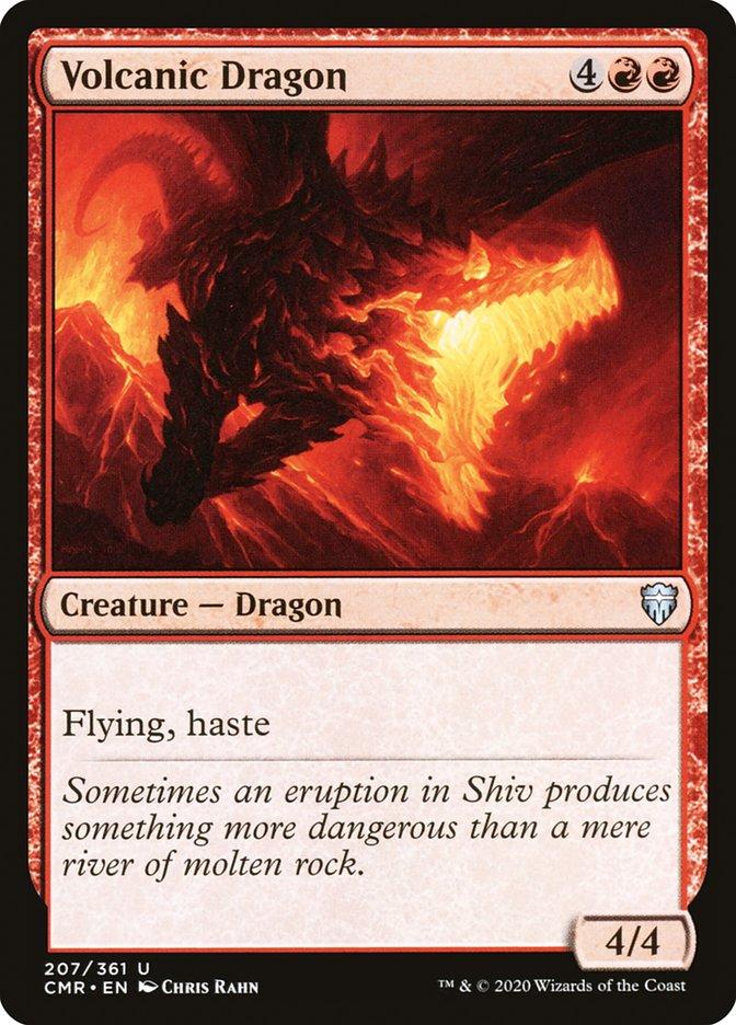Carta /Volcanic Dragon de Magic the Gathering