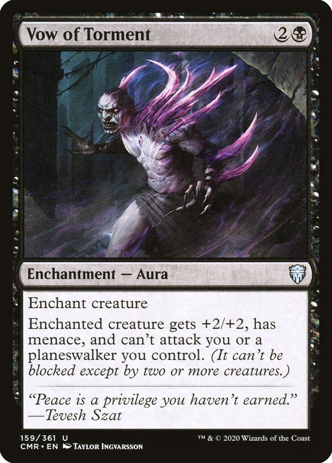 Carta /Vow of Torment de Magic the Gathering