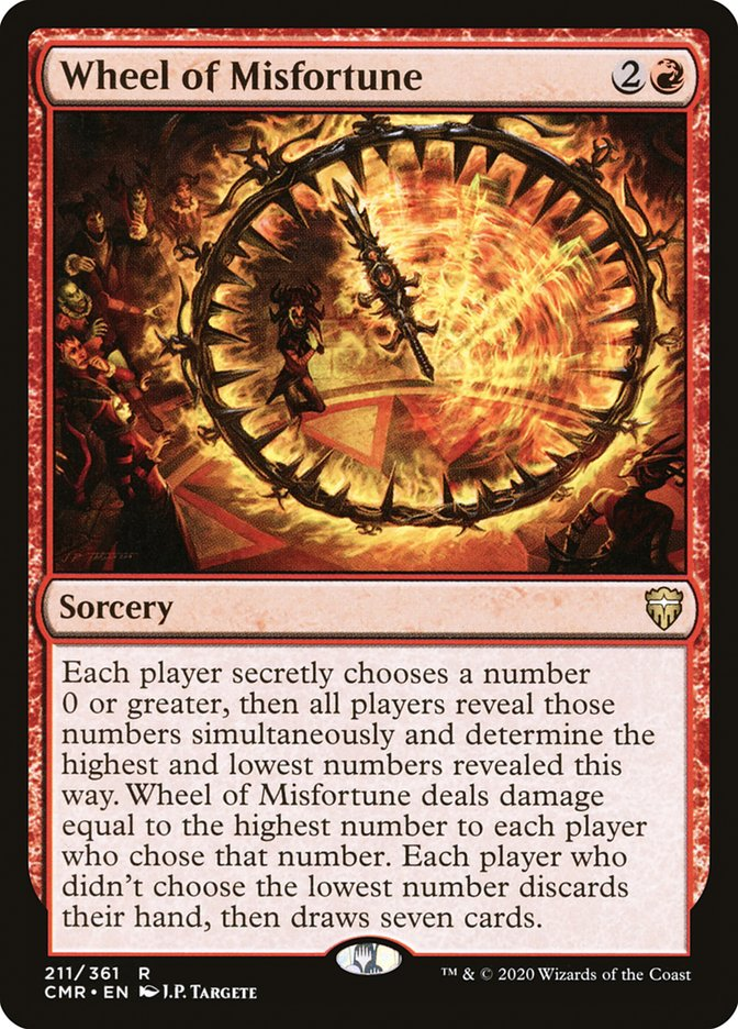 Carta /Wheel of Misfortune de Magic the Gathering