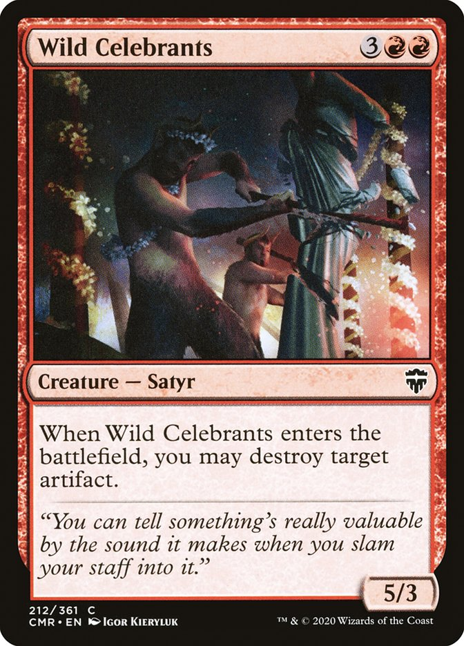 Carta /Wild Celebrants de Magic the Gathering