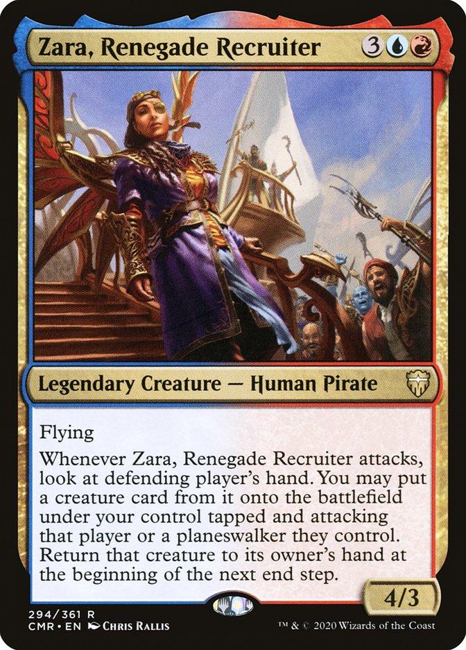 Carta /Zara, Renegade Recruiter de Magic the Gathering