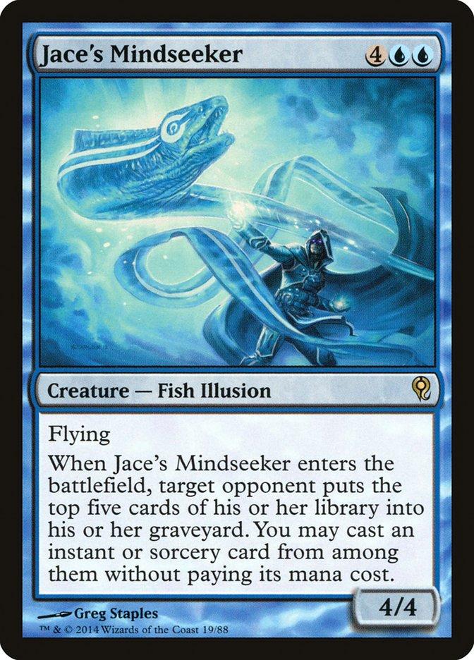 Carta Caça-mentes de Jace/Jace's Mindseeker de Magic the Gathering