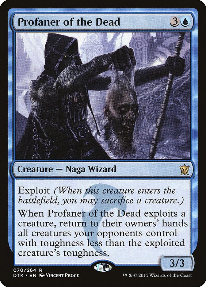 Carta Profanador dos Mortos/Profaner of the Dead de Magic the Gathering