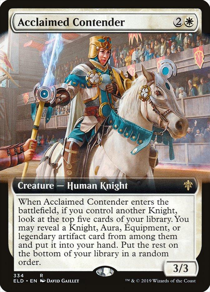 Carta Competidora Aclamada/Acclaimed Contender de Magic the Gathering