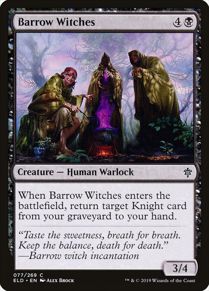 Carta Bruxas da Mamoa/Barrow Witches de Magic the Gathering