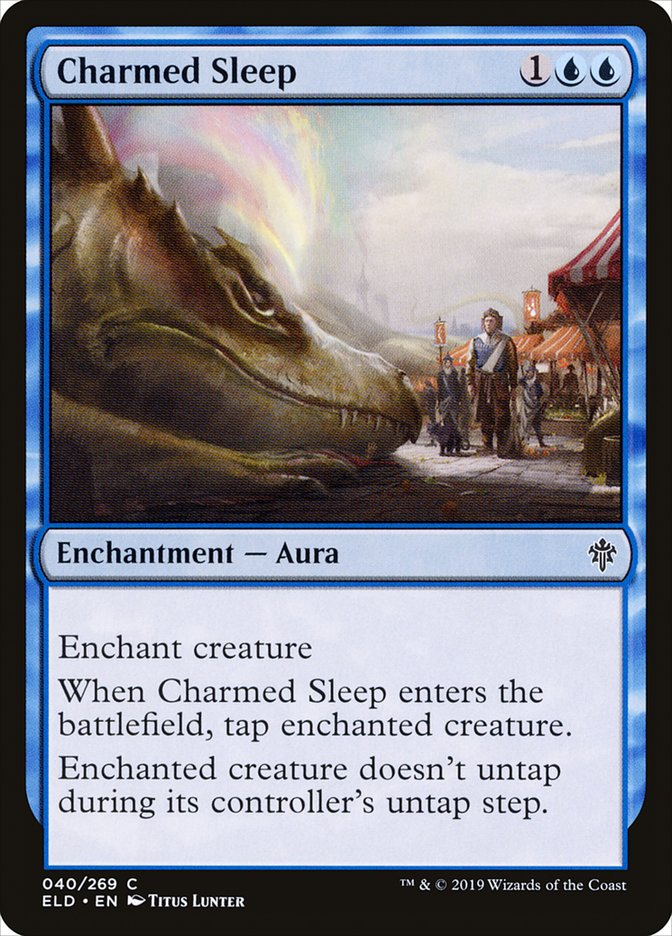 Carta Sono Encantado/Charmed Sleep de Magic the Gathering