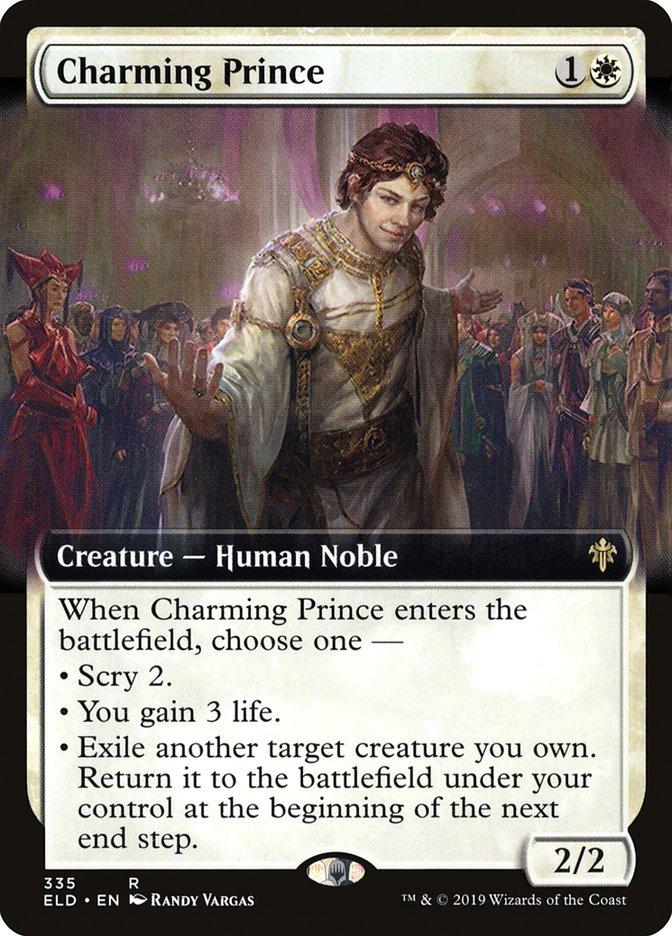 Carta Príncipe Encantado/Charming Prince de Magic the Gathering
