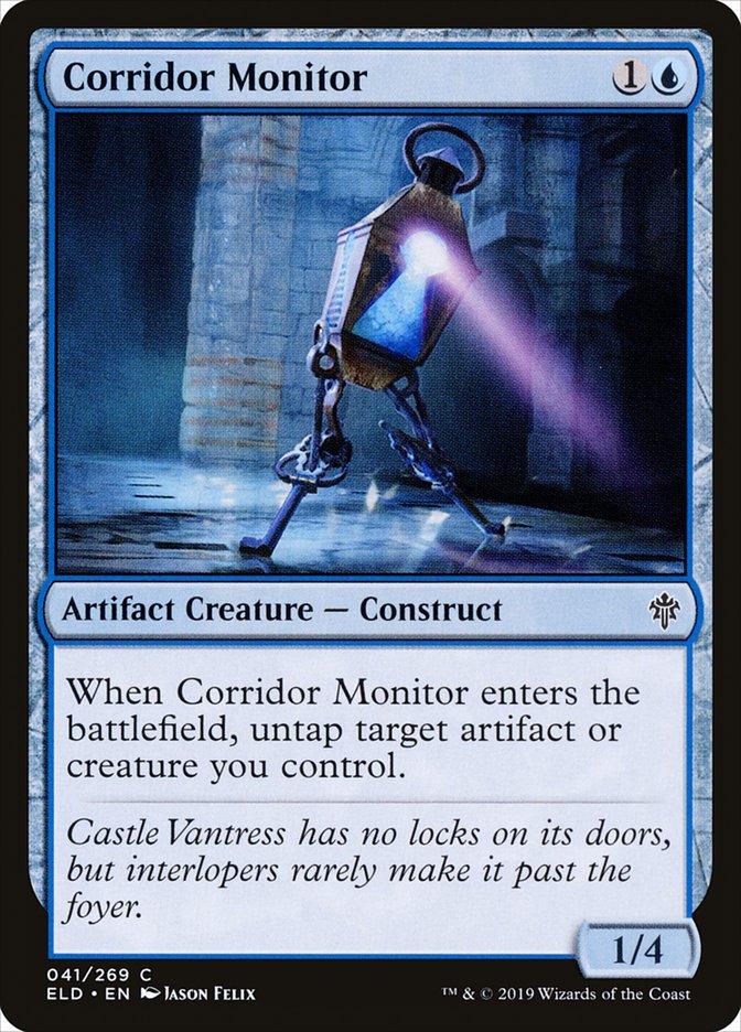 Carta Supervisor de Corredores/Corridor Monitor de Magic the Gathering