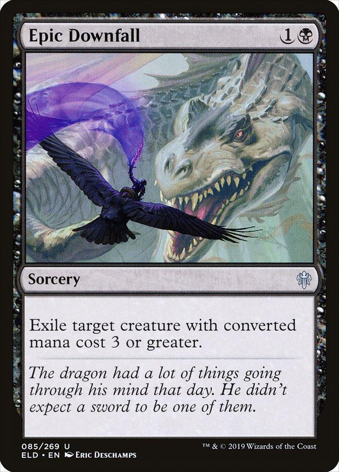 Carta Queda Épica/Epic Downfall de Magic the Gathering