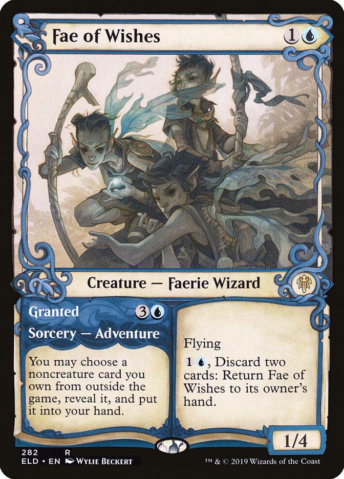 Carta /Fae of Wishes de Magic the Gathering