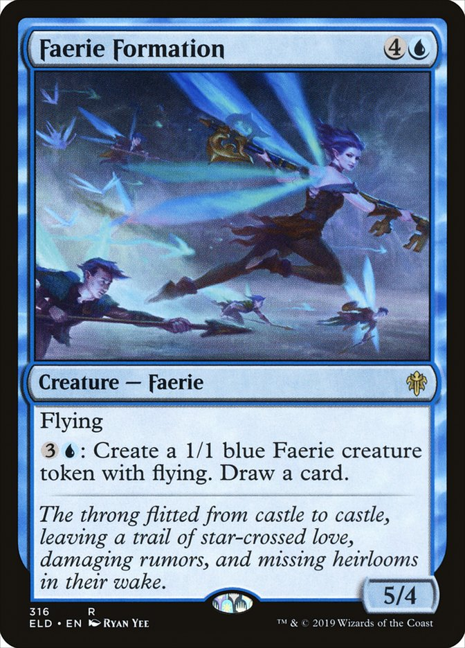 Carta Faerie Formation/Faerie Formation de Magic the Gathering