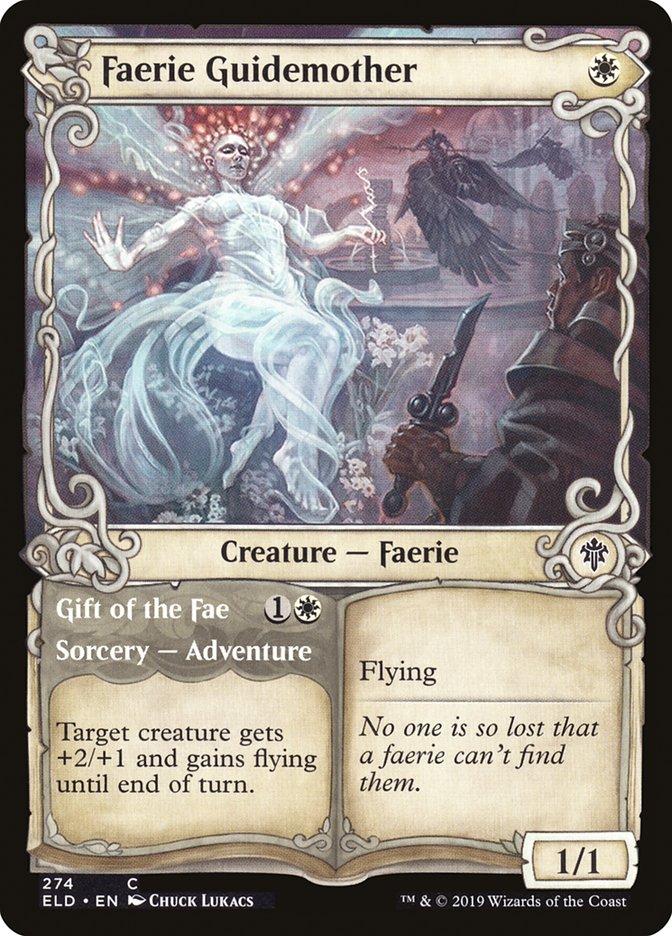 Carta Fada Madre-guia/Faerie Guidemother de Magic the Gathering