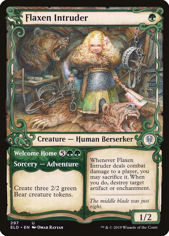 Carta /Flaxen Intruder de Magic the Gathering