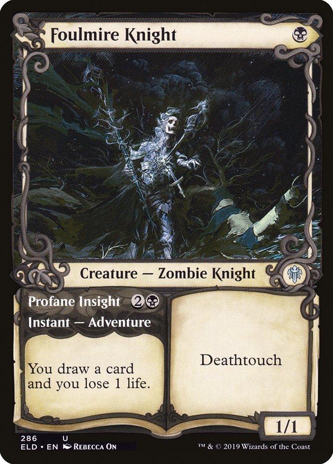 Carta /Foulmire Knight de Magic the Gathering