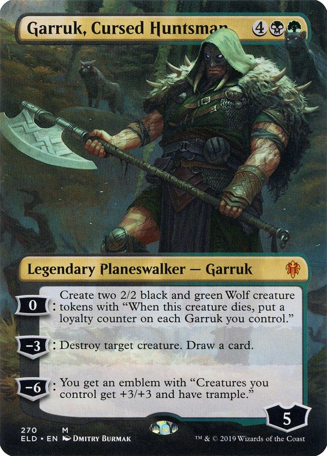 Carta Garruk, Caçador Amaldiçoado/Garruk, Cursed Huntsman de Magic the Gathering