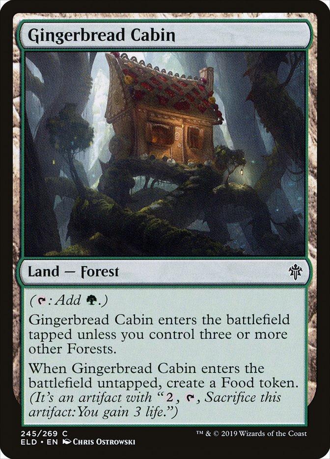 Carta Casinha de Doces/Gingerbread Cabin de Magic the Gathering