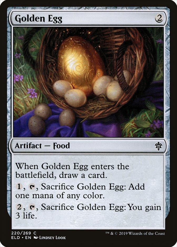 Carta Ovo de Ouro/Golden Egg de Magic the Gathering