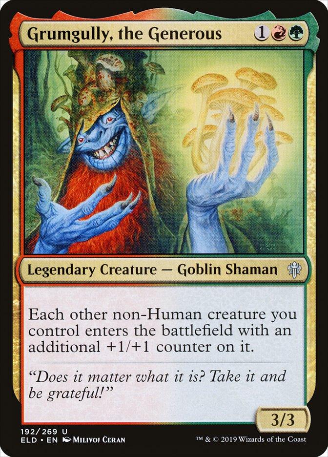 Carta Grumgully, o Generoso/Grumgully, the Generous de Magic the Gathering