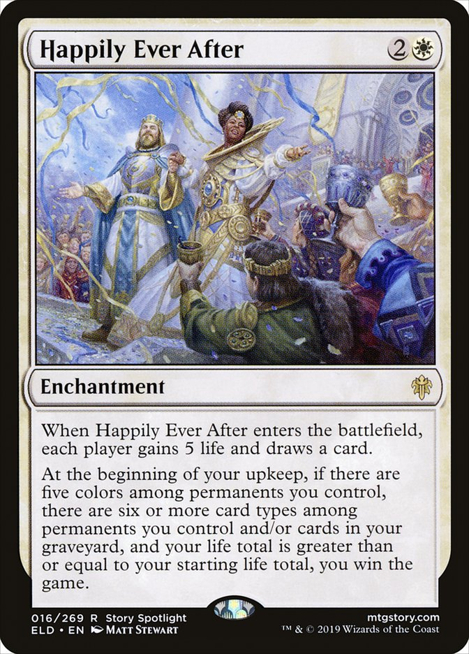 Carta Felizes para Sempre/Happily Ever After de Magic the Gathering