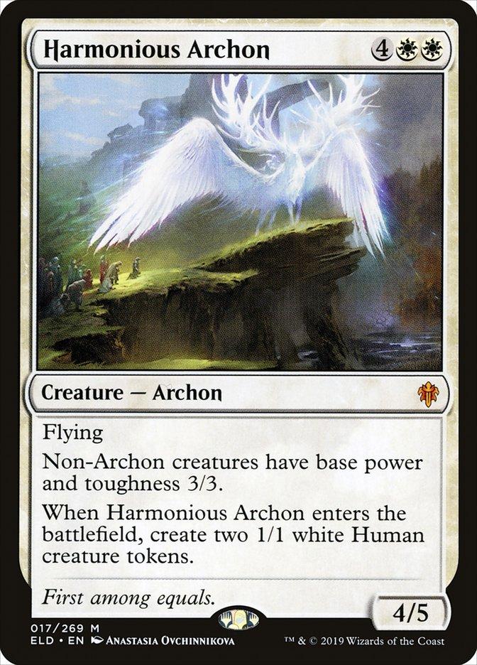 Carta Arconte Harmonioso/Harmonious Archon de Magic the Gathering