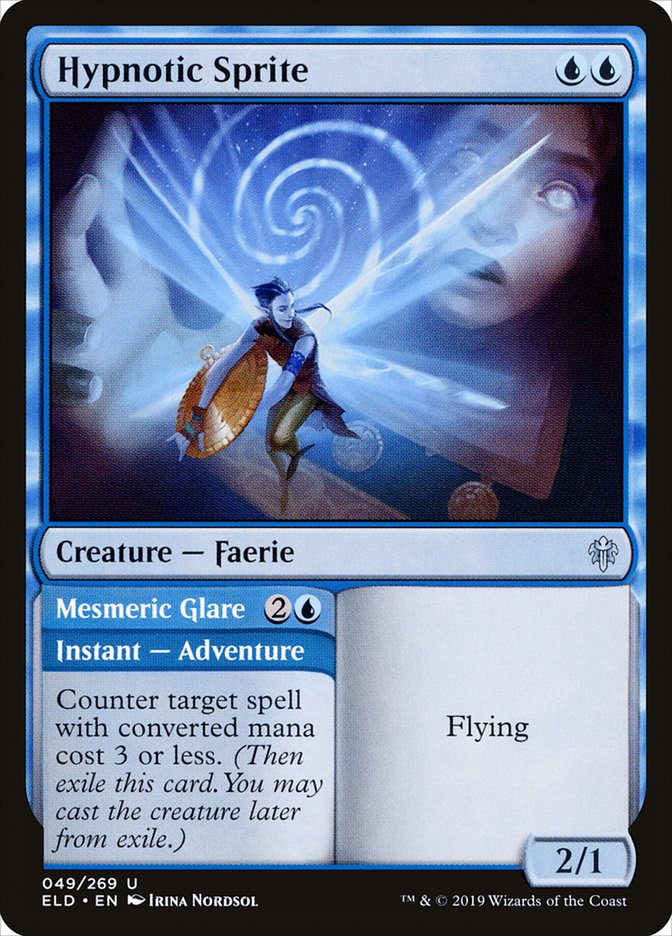 Carta /Hypnotic Sprite de Magic the Gathering