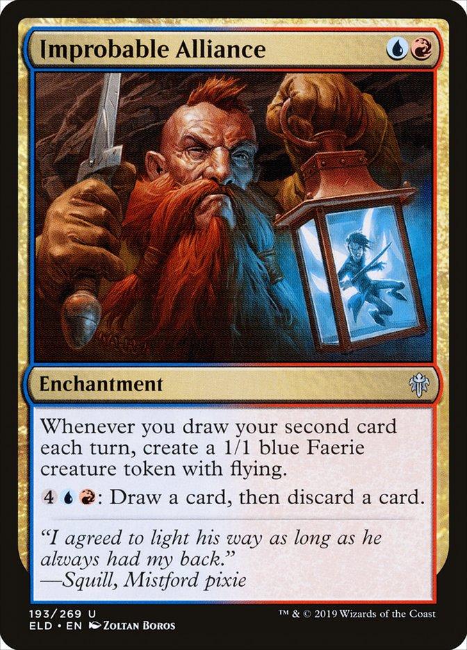 Carta Aliança Impensável/Improbable Alliance de Magic the Gathering