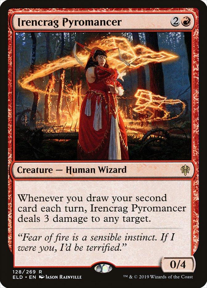 Carta Piromante de Rochaferro/Irencrag Pyromancer de Magic the Gathering