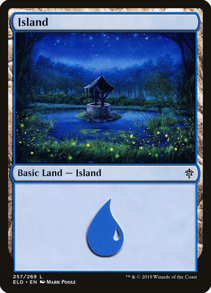 Carta /Island de Magic the Gathering
