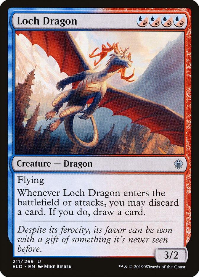 Carta Dragão do Lago/Loch Dragon de Magic the Gathering
