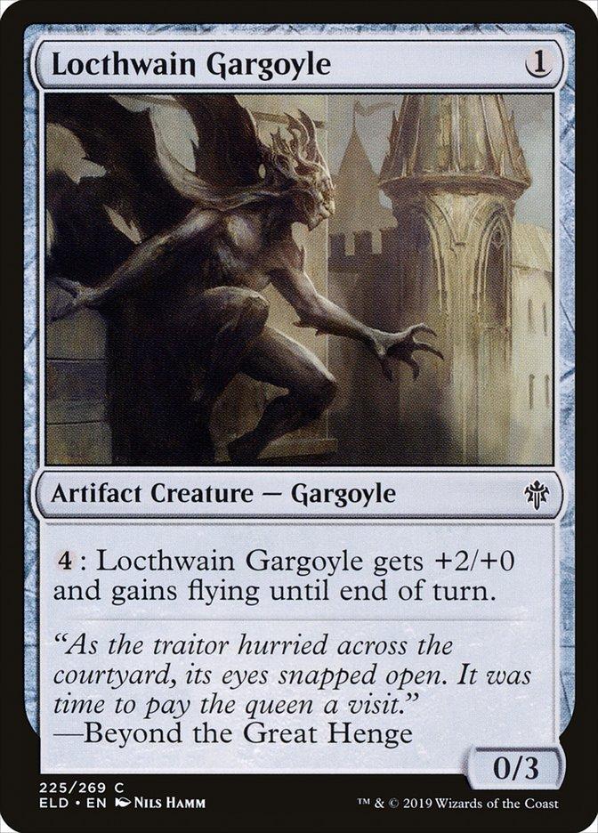 Carta Gárgula de Locthwain/Locthwain Gargoyle de Magic the Gathering