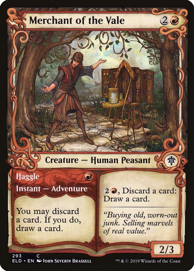Carta Comerciante do Vale/Merchant of the Vale de Magic the Gathering
