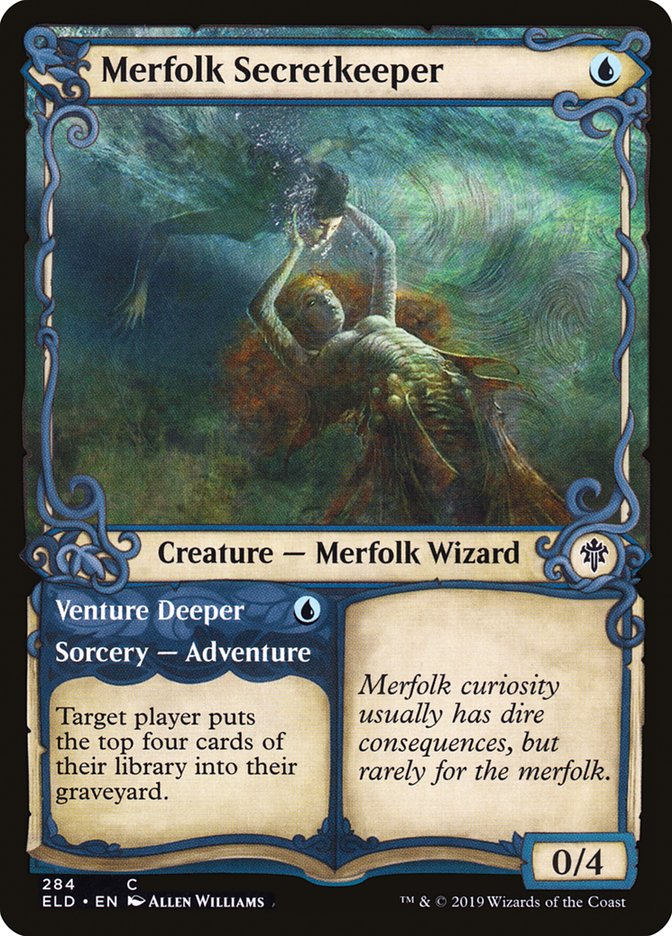 Carta /Merfolk Secretkeeper de Magic the Gathering