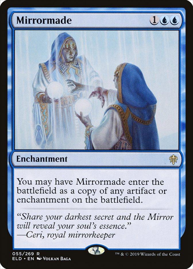 Carta Espelhamento/Mirrormade de Magic the Gathering