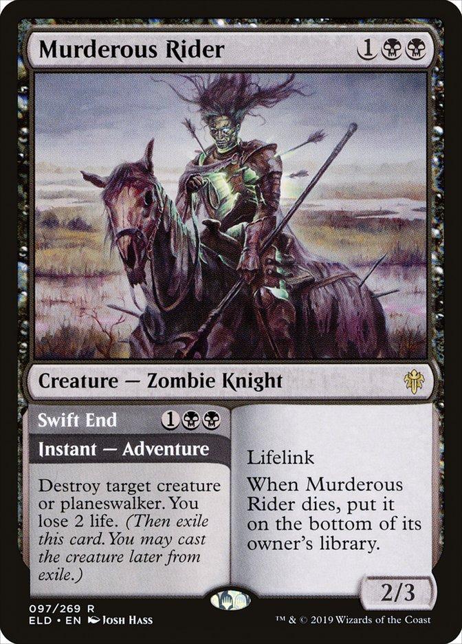 Carta /Murderous Rider de Magic the Gathering