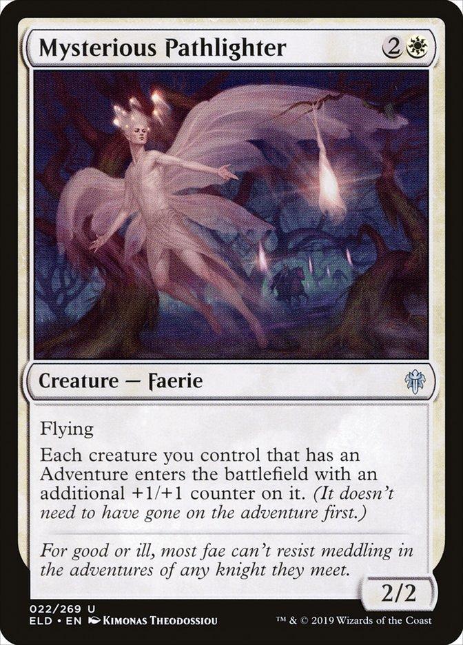 Carta Alumiador de Trilhas Misterioso/Mysterious Pathlighter de Magic the Gathering