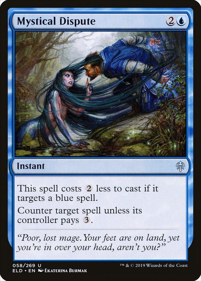 Carta Disputa Mística/Mystical Dispute de Magic the Gathering