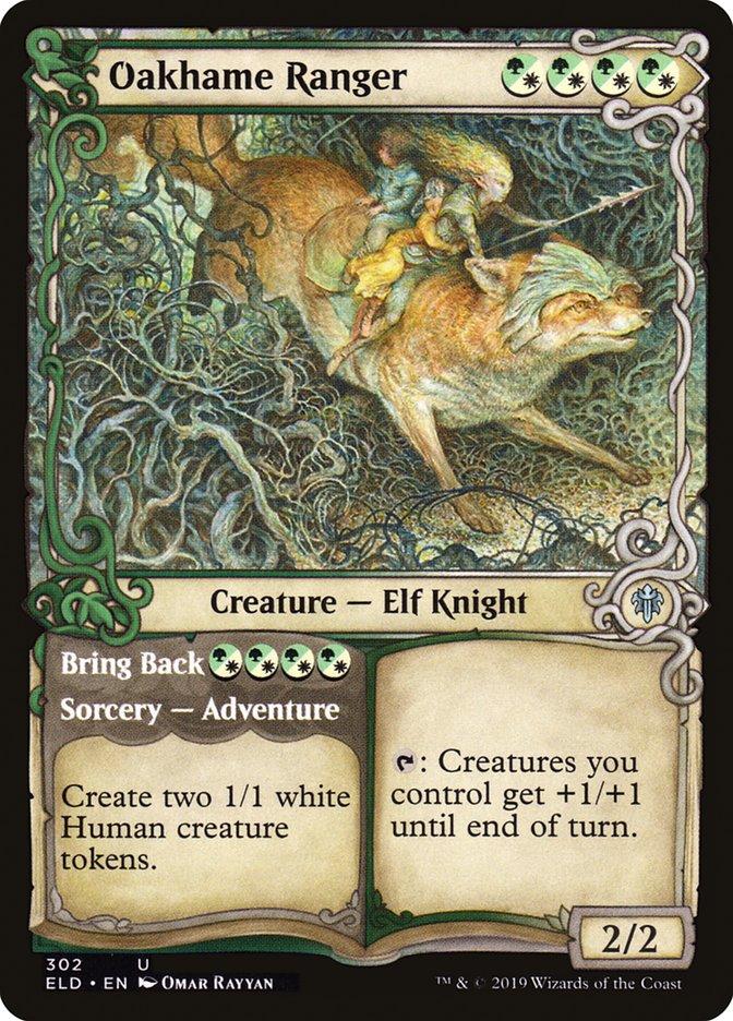 Carta Patrulheira de Carvalhândia/Oakhame Ranger de Magic the Gathering