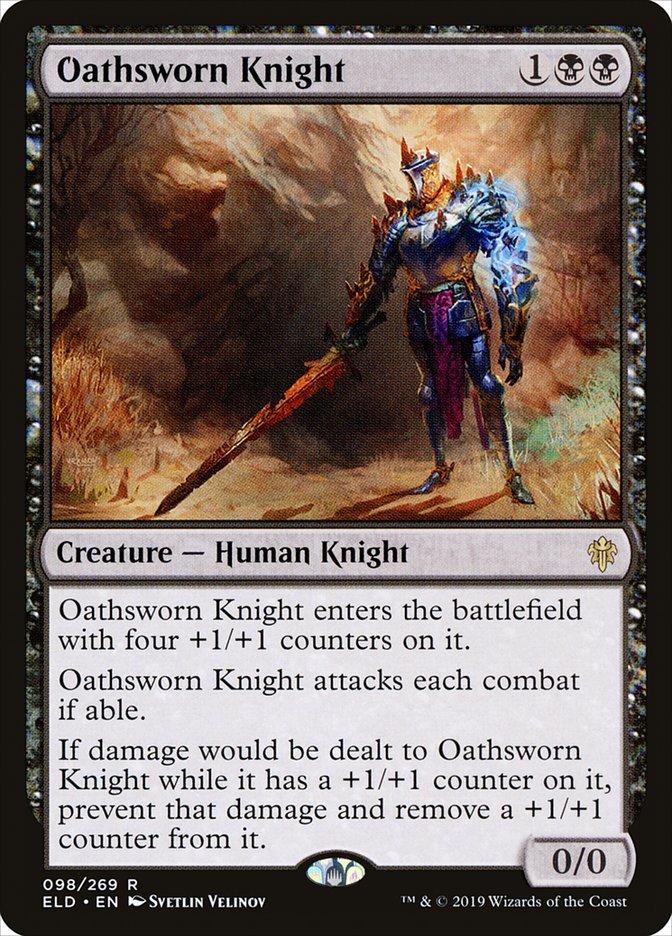Carta Cavaleiro Jurado/Oathsworn Knight de Magic the Gathering