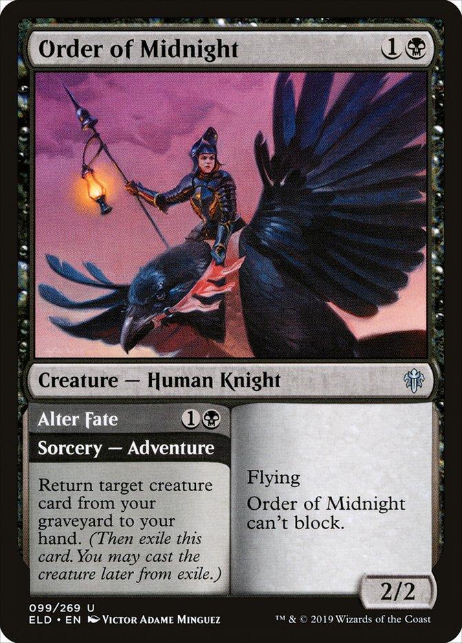 Carta Ordem da Meia-noite/Order of Midnight de Magic the Gathering