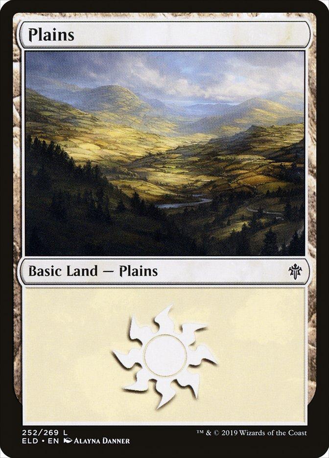 Carta /Plains de Magic the Gathering
