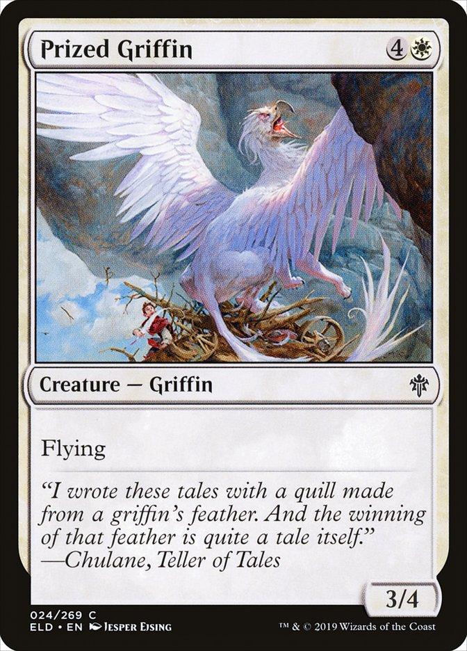 Carta Grifo Cobiçado/Prized Griffin de Magic the Gathering