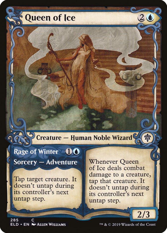 Carta Rainha do Gelo/Queen of Ice de Magic the Gathering