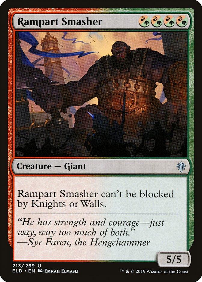 Carta Esmaga-ameias/Rampart Smasher de Magic the Gathering